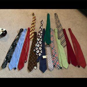 Men's ties most new bundle